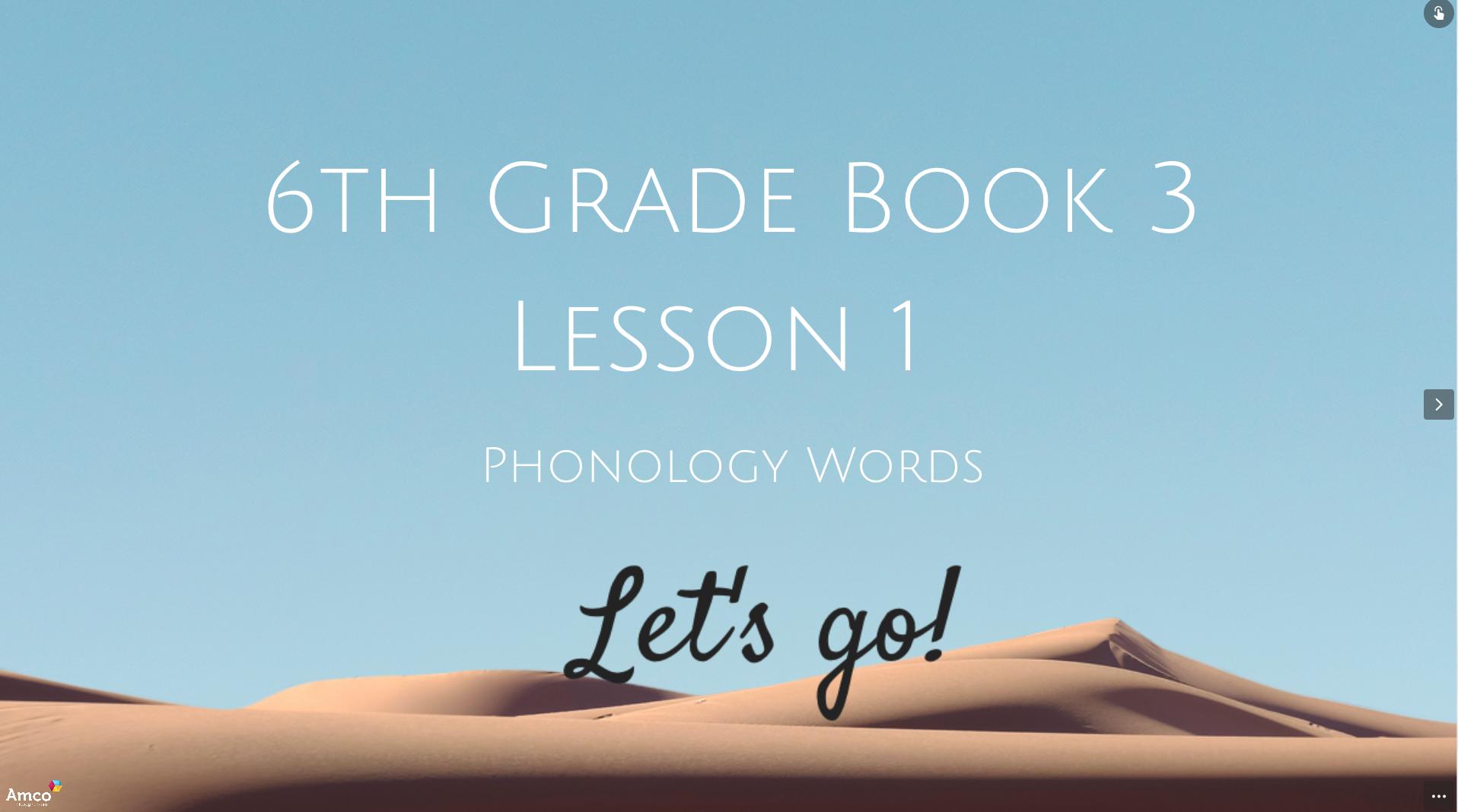 Phonology-homeschooling